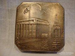 Antik ezüstözött Orosz púderes szelence
