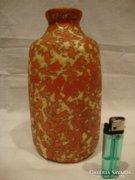 Tófej retro iparművész kerámia váza
