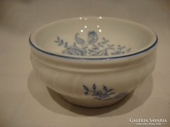 Régi porcelán asztali só - fűszertartó , kínáló
