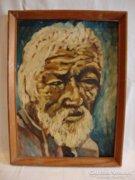 Férfi portré festmény