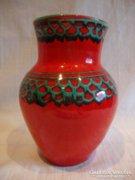 Retro iparművész kerámia váza