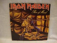 Iron Maiden Piece of Mind LP bakelit
