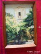 Szentendrei templom, KERETTEL. LEÁRAZÁS