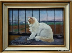 Rainerné Istvánffy Gabriella festmény
