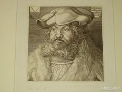 Dürer után: Bölcs Frigyes szász választófejedelem