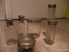 Antik piperés üvegek a XX. század elejéről egyben