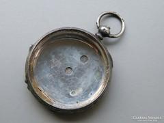 Ap 397 - Ezüst zsebóra tok gazdagon díszített fémjelzett