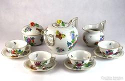0C152 Régi herendi porcelán teáskészlet