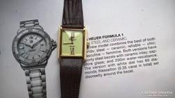 """""""Aranyos"""" luxus Leonard női quartz óra Swiss"""