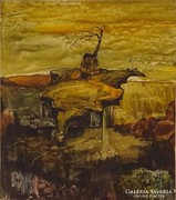 Z305 Dali hatású festmény