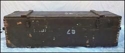Katonai lőszeres láda , fenyő láda - nagy méret