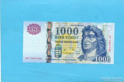Hajtatlan  !!!!  Unc !!!! 1000 Forint 2006 DB !!!