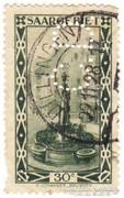 Saargebit forgalmi bélyeg 1927