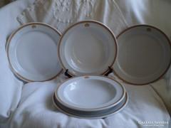 ALFÖLDI porcelán : 2 + 3 tányér