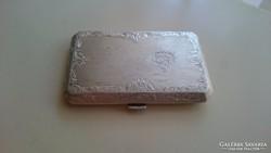 Ezüst kisméretű cigarettatárca v.dóznis