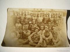 Katona háború  Régi fénykép képeslap