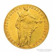 Aranypénz Ferdinánd 1 dukát 1848 Ritka !!