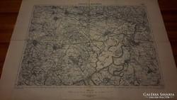 Tiszafüred és Besenyőtelek katonai térkép (4965)