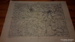 Szolnok (5154) katonai térkép