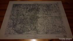 Nagykanizsa (5458) katonai térkép
