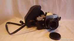 PRAKTICA MTL3 régi fényképezőgép CARL ZEISS JENA 1.8/50