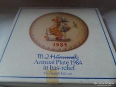 Hummel Goebel dísztányér eredeti dobozában 3.