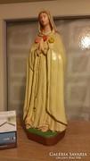 Szűz Mária 43cm-es nagyméretű kegytárgy - szobor