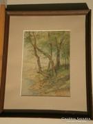 Santhó Miklós (20.sz.eleje) : Vízparti fák