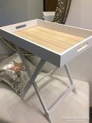 Kávézó,Teázó asztal,tálcás asztal mutatos bútor