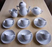 Herendi 6 személyes kávéskészlet!