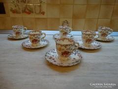 6 személyes Sarreguemines kávés készlet