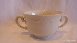 Antik porcelán 2 fülű csésze