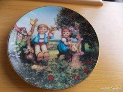 Hummel limitált darabszámú tányér