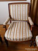 Ónemet garnitúra, 4 fotellel, kanapéval