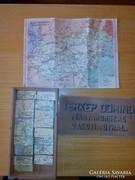 Térkép dominó az 50-es êvekből