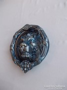 Hatalmas oroszlán figurás  kopogtató