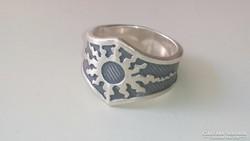 Ezüst gyűrű, Mexikói 925 ös