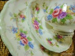 Antik CHIPPENDAL álomszép porcelán 6szem.teás/kávés/sütemény