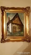 Falusi ház részlet