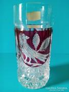 Ólom kristály pohár