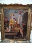 Geiger Richard  Festménye  60x80 .Apacsok