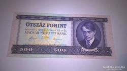 1990-es Nagyon szép 500 forintos bankjegy!