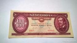 1989-es,hajtatlan A-UNC 100 forintos bankjegy!