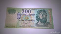 1998-as ropogós 200 forintos bankjegy!