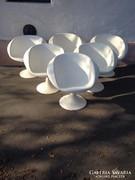 Fiberglass plastic armchair