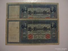 Németország 100 Márka 1910.