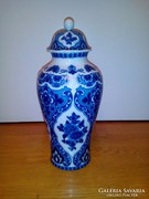 Wallendorf porcelán fedeles váza