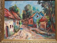 Wilhelm Kaufmann (1895–1975) olajfestmény vásznon