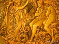 N1 Ádám,és Éva kiűzetése a paradicsomból faltál 28 cm