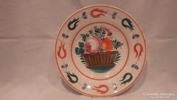 Szakmáry Hollóháza porcelán falitányér
